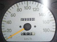 写真:2006年4月23日19時59分のメーター