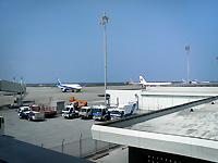 12時ころの那覇空港
