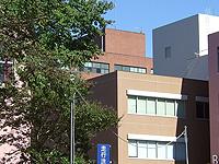 建物の色と配置より、筑波大学内の松見池から第一エリアを撮影したものと考えられる。また時期については、送電線が張られていることから、学園祭付近に撮影されたものと考えられる。(85字)
