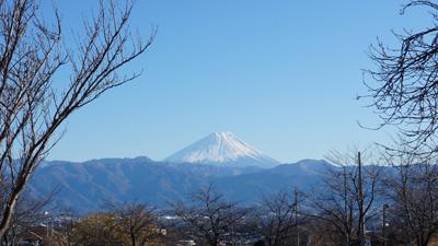2015年1月3日の富士山